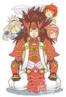 FE - Ryoma of the Mighty Hair