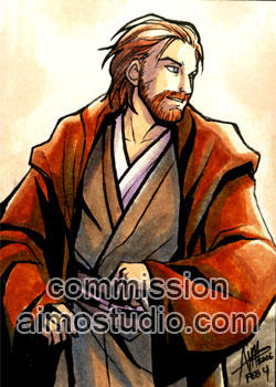 Star Wars - AOTC Obi-Wan by aimo