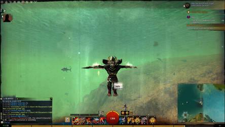 Airplane Mode Underwater!!! by WannaFantaMan