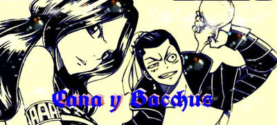 Cana y Bacchus Fairy tail  by escorpio75