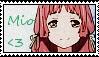 Stamp - Mio by harusparrow14