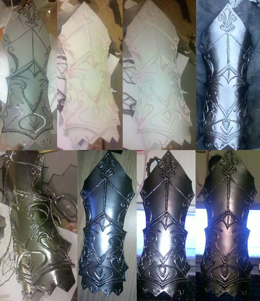 Skyrim Ebony Gauntlets by CourtHouse