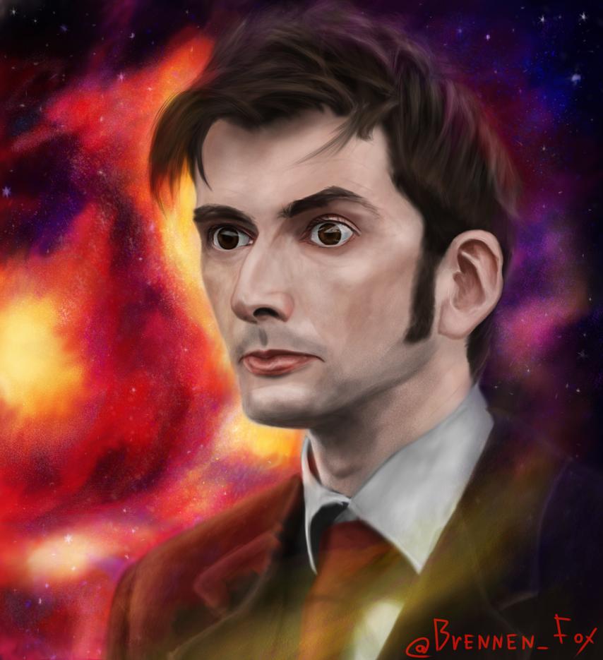 Tenth Doctor. David Tennant by Brennen-Fox