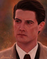 Special agent Dale Cooper (Twin Peaks) by Brennen-Fox