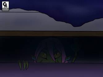 Amaya under a bed  Tmutb