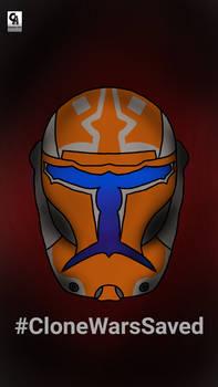 Commando Helmet #CloneWarsSaved