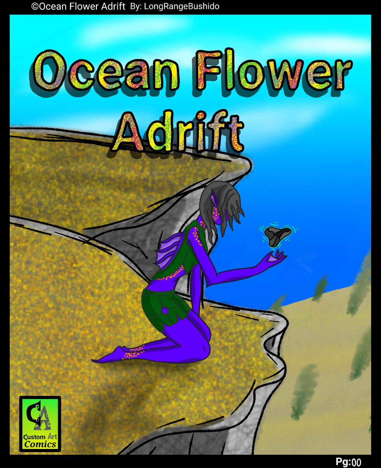 Ocean Flower Adrift Remastered Cover