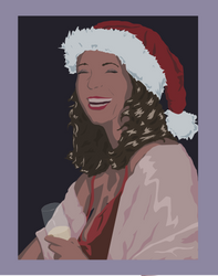 Christmas Party Girl