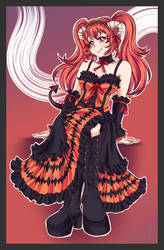Commission: Diva Devil Kurumi