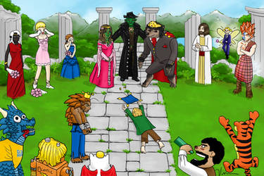 The G3 Wedding by JulieKupo