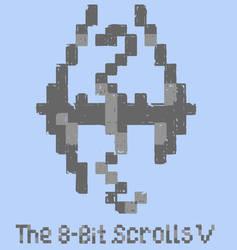 The 8-Bit scrolls V by JulieKupo