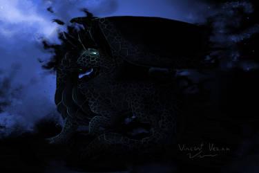 Chaos Dragon by JulieKupo