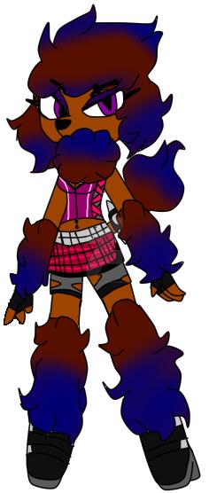 Jasmine Bellrose new adopt by thebloodredwolf
