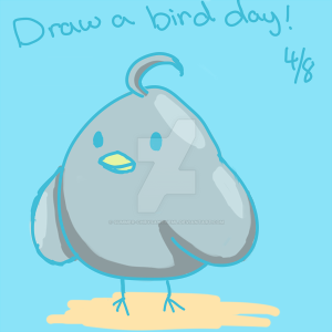 Draw a Bird Day 2016 by Summer-Chrysantheml