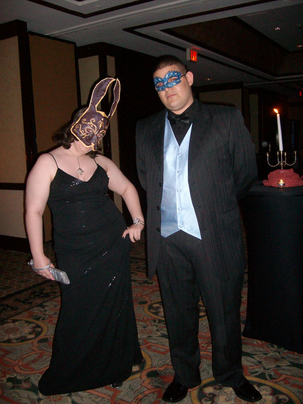 Prom- Sander Cohen Rabbit Mask by Sunagirl
