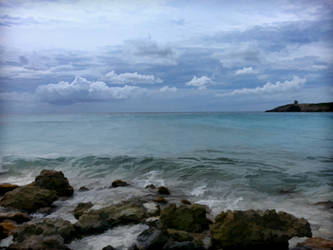 Ocean shore by SavageLandPictures