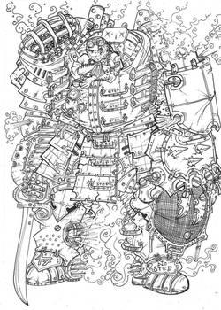 Steam Knight Gawain II