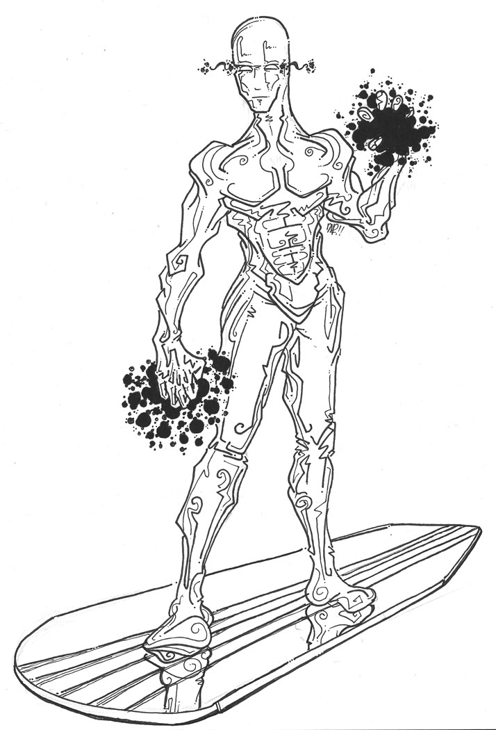 Marvel - Silver Surfer by newvani