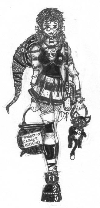 """Фанарт по """"Самой плохой ведьме"""" - Страница 3 Worst_Witch___Maude"""