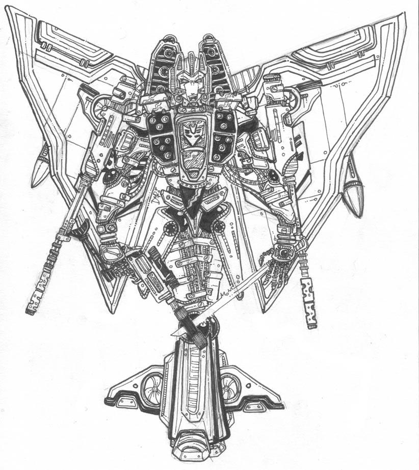 Transformers - Starscream by newvani