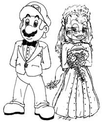 Wendy O. Koopa's Kootiful Wedding by ScourgeYZ