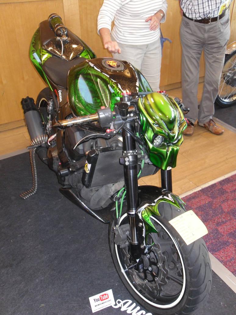 Ghost rider's backup bike..