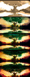 A Mother's Faith - Stages. by AaronMetallion