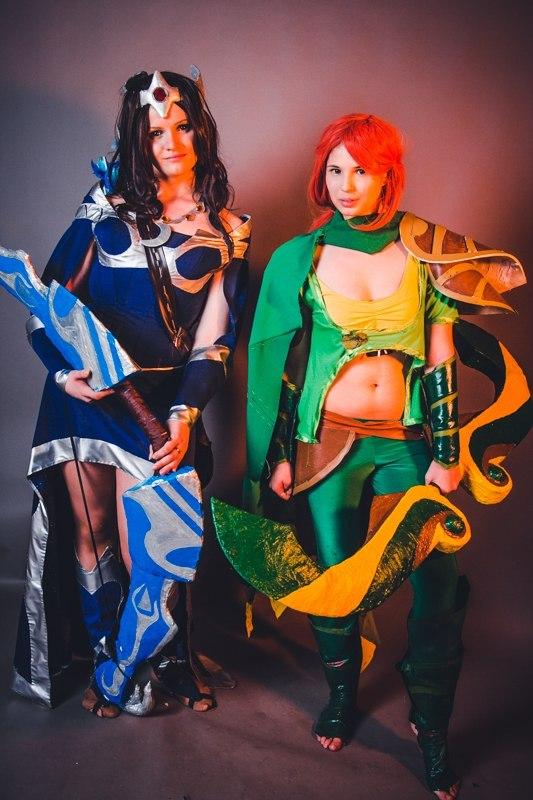 Dota2 Mirana Windrunner cosplay by SamediGrimm on DeviantArt