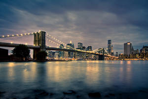 New York at night by Benijamino