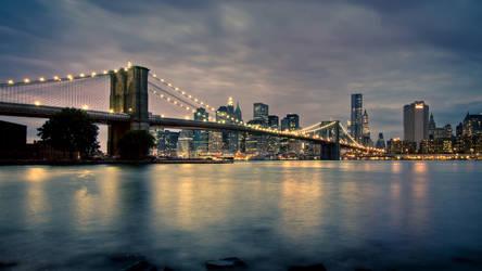 NY at night