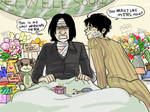 HP-If Snape survived...