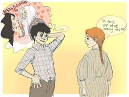 HP-Harry the slasher by koenta