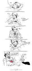 Ironman- Stark's heart by koenta
