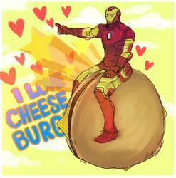 Ironman-cheese burger II by koenta