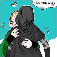 Legolas and Aragorn by koenta