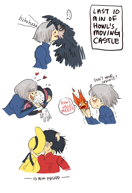 Howl's Moving Castle by koenta