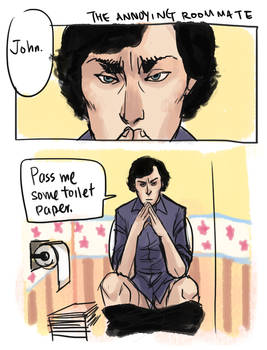 BBC Sherlock - Annoying Roommate