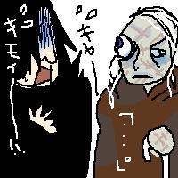 Snape and Moody by koenta