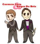 Roger De Bris and Carmen Ghia
