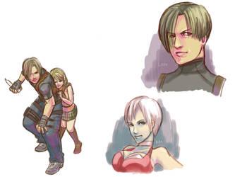 Resident Evil 4 by koenta