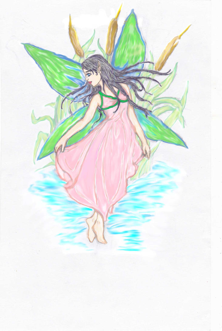 Water Fairy by AnneTesla
