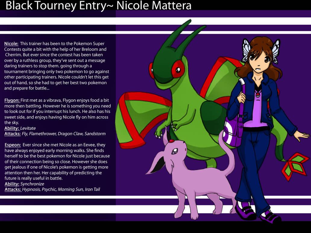 Black Tourney Entry: Nicole