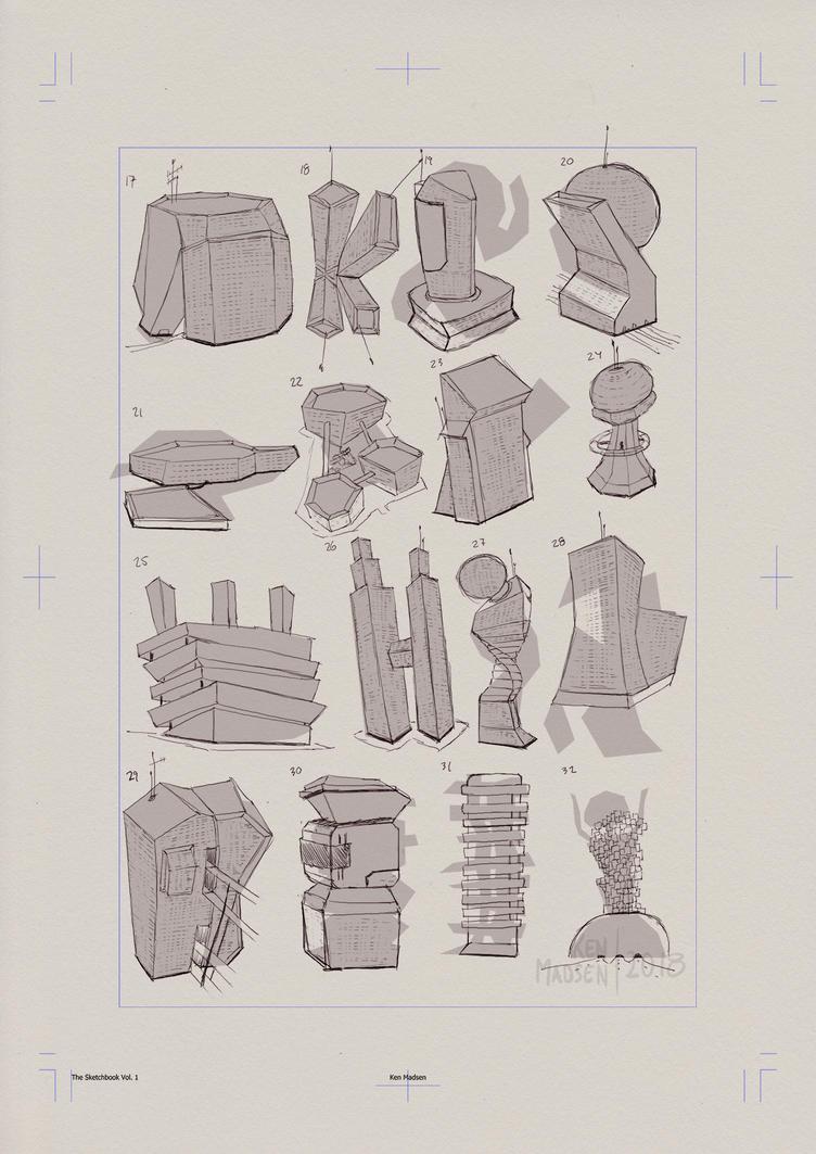 Page0057- Skyscraper concepts by kenmadsenart