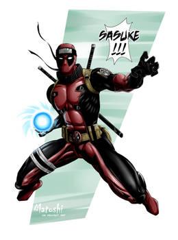Deadpool's Rasengan