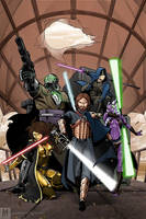Dark jedi brotherhood (no text) by G-Matoshi