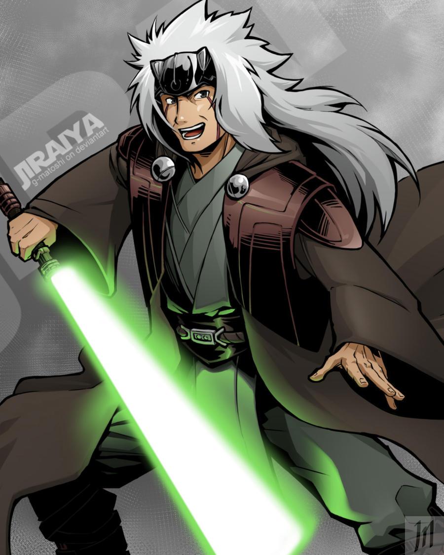 Jiraiya The Jedi Hermitt Ero Senin By G Matoshi On Deviantart