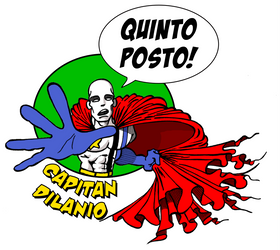 Capitan Dilanio -  Fifth Place by ghichtin