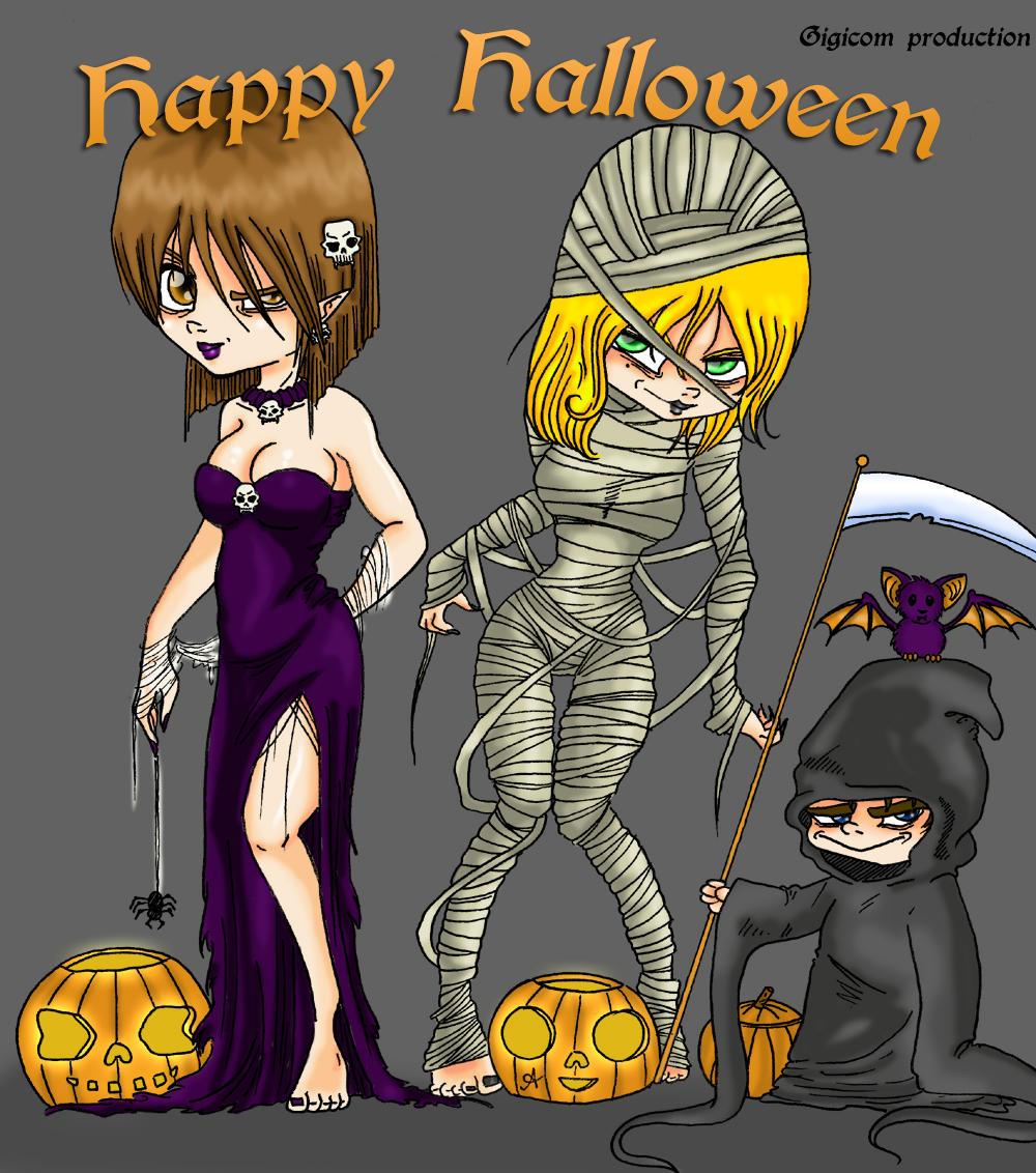 Halloween by Gigicom