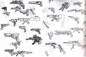 Guns by SmakDaBunny