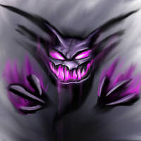 Haunter by SmakDaBunny
